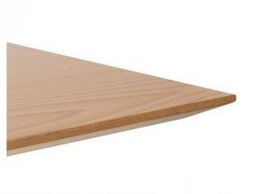 Столешница массив/шпон, 600*600*25 со скосом, квс 02-103