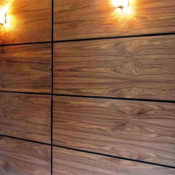Стеновые панели из мдф шпон дуб