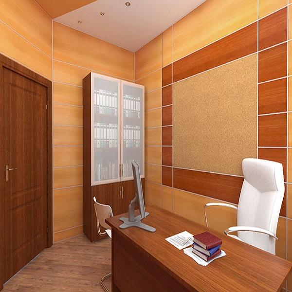 Стеновые панели шпон в офис, кабинет, переговорную комнату