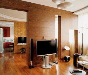 Декоративная отделка квартиры шпоном