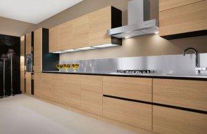 Кухонные гарнитуры натуральный шпон